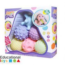 Textures multi sensory balls - 6 pieces