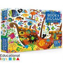 Usborne Under The Sea Book and Jigsaw