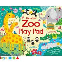 Usborne Zoo Play Pad (Activity Book)